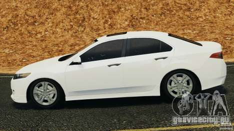 Honda Accord Type S 2008 для GTA 4 вид слева
