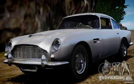 Aston Martin DB5 1964 для GTA 4 вид справа