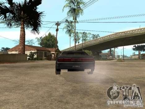 Dodge Challenger для GTA San Andreas вид справа