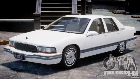 Buick Roadmaster Sedan 1996 v1.0 для GTA 4 вид слева