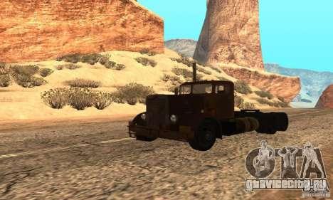 Duel Peterbilt для GTA San Andreas