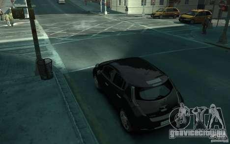 Nissan Leaf 2011 для GTA 4 вид сзади слева