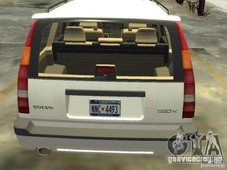 Volvo 850 R 1996 Rims 2 для GTA 4 вид сзади слева