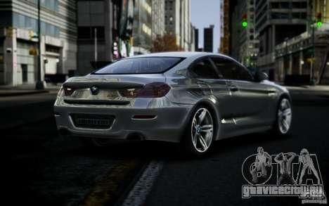 BMW 640i F12 для GTA 4 вид слева
