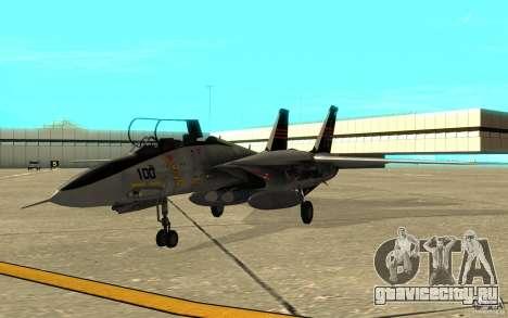 F-14A Screaming Eagles VF-51 для GTA San Andreas вид слева