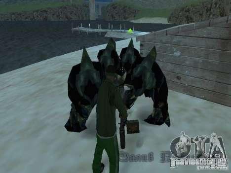 Подводные монстры для GTA San Andreas третий скриншот
