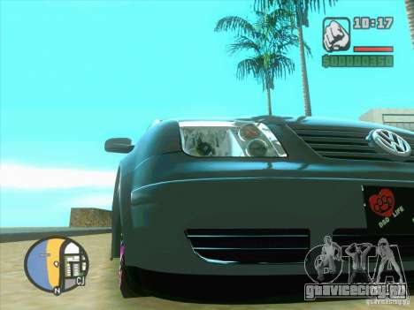 VW Bora Tuned для GTA San Andreas вид слева