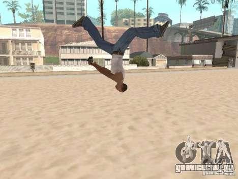 Parkour 40 mod для GTA San Andreas пятый скриншот