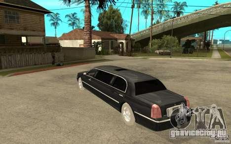 Lincoln Towncar limo 2003 для GTA San Andreas