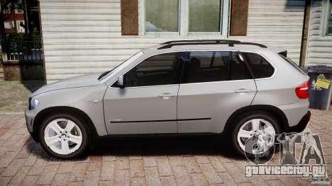 BMW X5 xDrive 4.8i 2009 v1.1 для GTA 4 вид слева