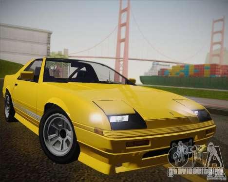 GTA IV Ruiner v2 для GTA San Andreas вид сзади