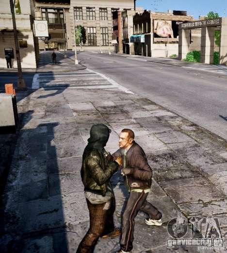 Bad Niko для GTA 4 пятый скриншот