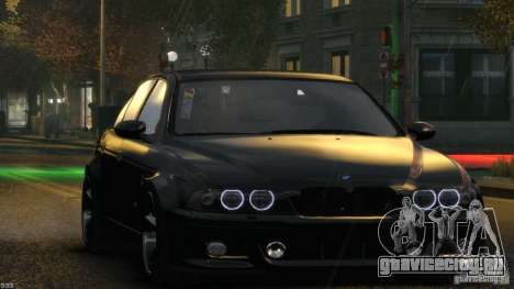 BMW M5 E39 AC Schnitzer Type II v1.0 для GTA 4 салон