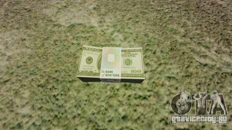 Денежные купюры США номиналом 100$ для GTA 4
