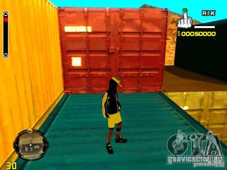 Skin бомжа v3 для GTA San Andreas пятый скриншот