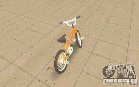K2B Ghetto BMX для GTA San Andreas вид сзади слева