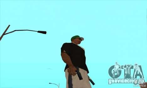 WEAPON BY SWORD для GTA San Andreas