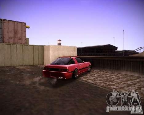Mazda RX7 FBS3 для GTA San Andreas вид справа