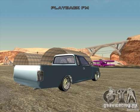 Toyota Hilux Surf Tuned для GTA San Andreas вид сзади слева