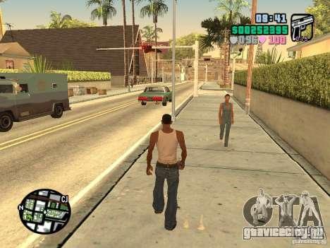 Vice City Hud для GTA San Andreas четвёртый скриншот