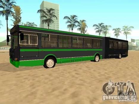 ЛиАЗ 6212 для GTA San Andreas вид сзади