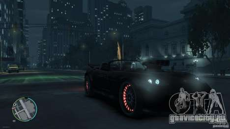 Red Neon  Banshee для GTA 4