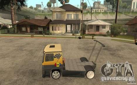Mercedes Benz Actros Dragster для GTA San Andreas вид слева