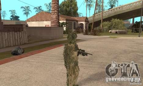 Скин снайпера для GTA San Andreas четвёртый скриншот