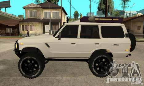 Toyota Land Cruiser 70 1993 Off Road Samurai для GTA San Andreas вид слева