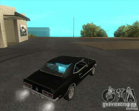 Chevrolet Camaro RSSS 396 1968 (fixed) для GTA San Andreas вид слева