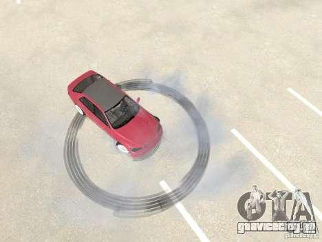Lexus IS300 HellaFlush для GTA San Andreas вид сзади