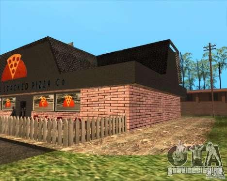 Новая пиццерия в IdelWood для GTA San Andreas второй скриншот