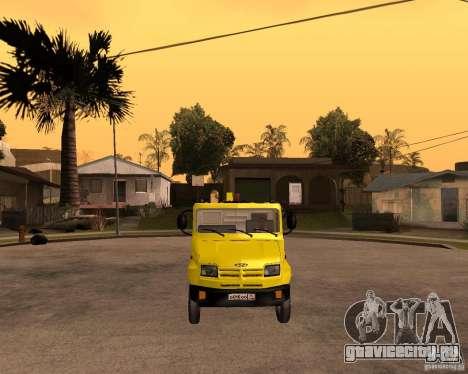 ЗиЛ 5301 Бычок эвакуатор для GTA San Andreas вид сзади