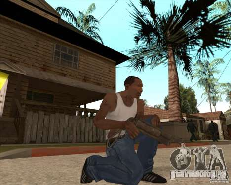 CoD:MW2 weapon pack для GTA San Andreas пятый скриншот