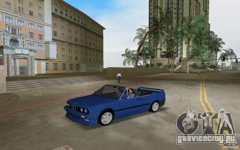 BMW M3 E30 Cabrio для GTA Vice City