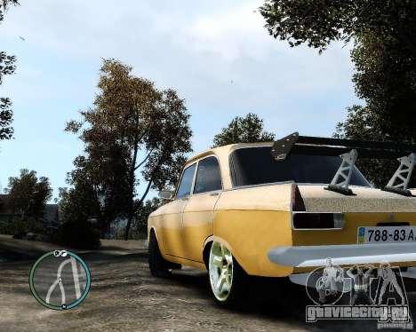 Moсквич 412 Street Racer [Alpha] для GTA 4 вид слева