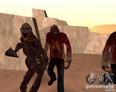 Zombie Half life 2 для GTA San Andreas десятый скриншот