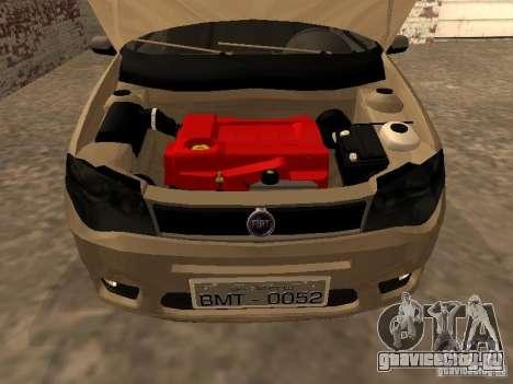 Fiat Palio 1.8R для GTA San Andreas вид справа