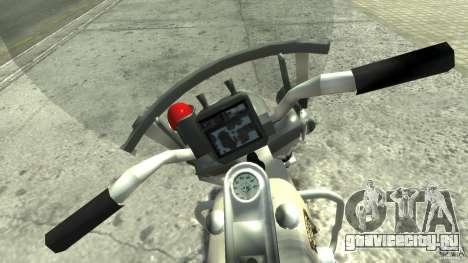 Police Bike для GTA 4 вид справа