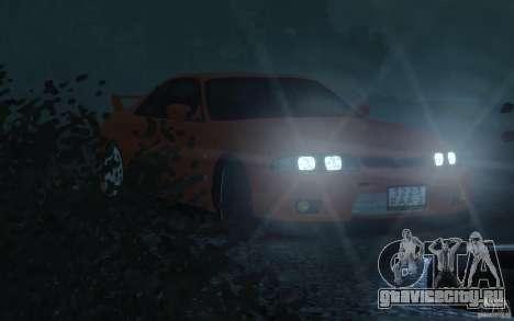 Nissan Skyline для GTA 4 вид сзади