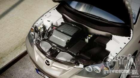 Mazda 3 2004 для GTA 4 вид сзади
