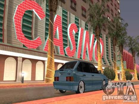 ВАЗ 2114 Casino для GTA San Andreas вид справа