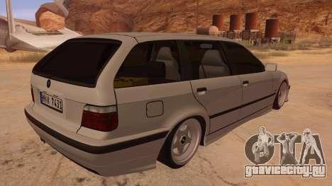 BMW M3 E36 Touring для GTA San Andreas вид справа