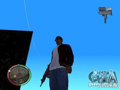 Изменение стиля стрельбы из Узи и Обреза для GTA San Andreas третий скриншот