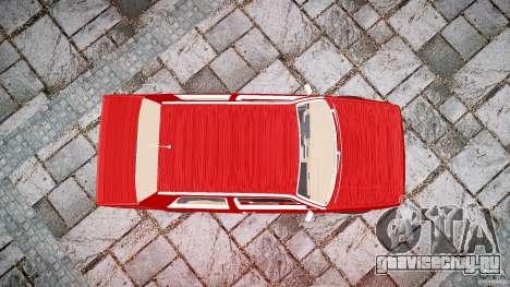 Volkswagen Jetta MKII VR6 для GTA 4 вид сверху
