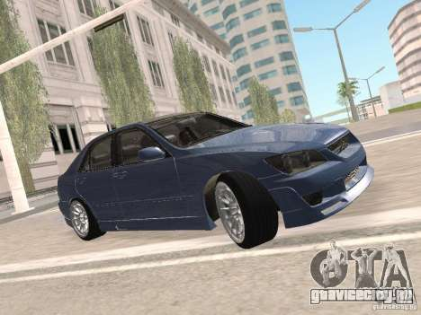 Lexus IS300 HellaFlush для GTA San Andreas