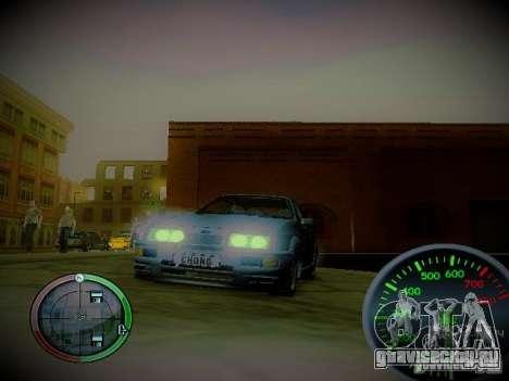 Спидометр by CentR v2 для GTA San Andreas второй скриншот