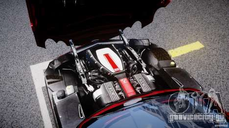 Mercedes-Benz McLaren SLR 722 v2.0 для GTA 4 вид изнутри