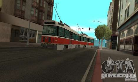 Canadian Light Rail для GTA San Andreas