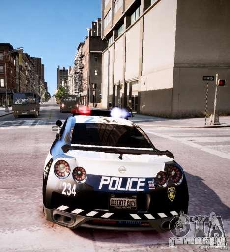 Nissan Spec GT-R Enforcer для GTA 4 вид сбоку